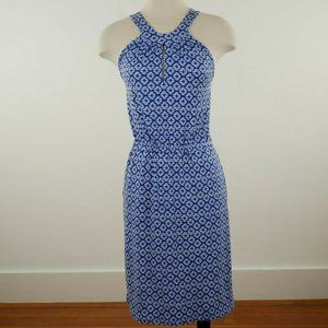 Banana Republic Twisted Crossback Halter Dress XS